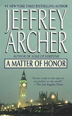 A Matter of Honor by Jeffrey Archer (Paperback) Expertly Refurbished Product