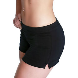 Shepa Damen Shorts Fitnesshose Hose aus Baumwolle kurze Fitness Shorts Hot Pants