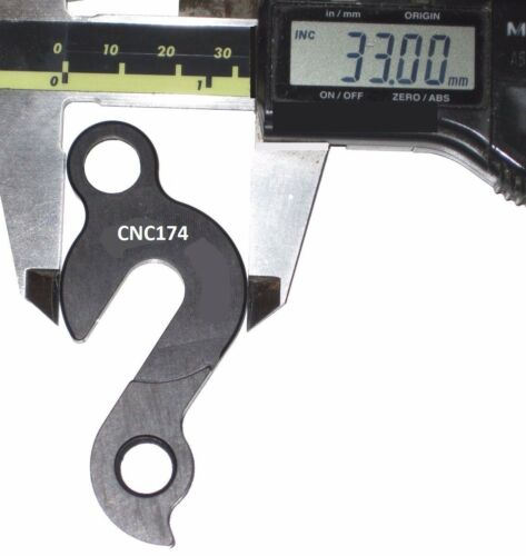 CHUMBA CNC EVO VF2 XCL Series UPGRADE Rear Derailleur Gear Mech Hanger CNC174