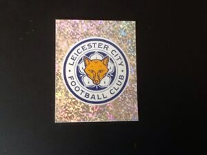 Merlin-Football-Sticker-249-2001-02-Mint-Condition-Leicester-City-Badge