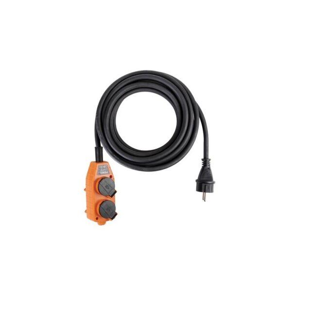 Câble En Néoprène Robuste Avec Bloc Multiprise, 4 Prises, Ip44
