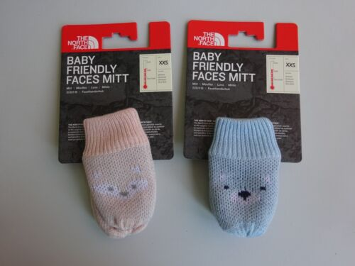 North Face Baby Friendly Faces Mitts NWT SOFT WARM 2018