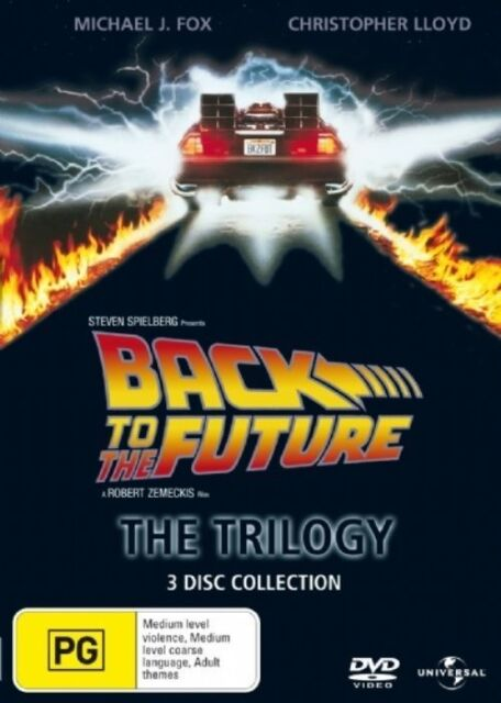 NEW Back To The Future - The Trilogy (DVD, 2008, 3-Disc Set)