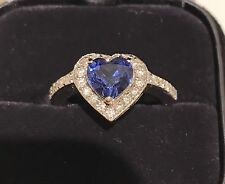 Sapphire & Diamond Ring 18k