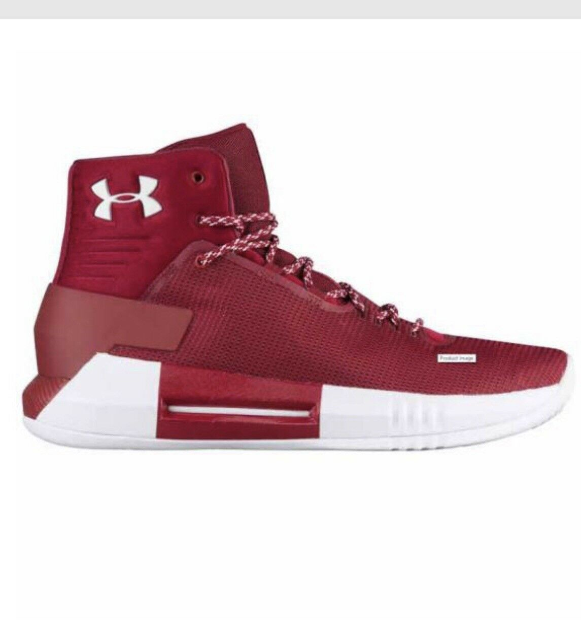 Under Armour Drive 4 Cardinal Uomo's Sz US 11 NEW with Box Red S. Curry SOLD OUT!