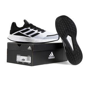 Adidas Duramo SL Men's Running Shoes Training Casual Black/White ...