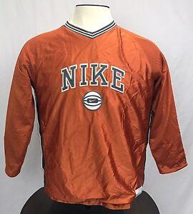 Reversible Retro Burnt Orange Nike Supreme Long Sleeve Youth