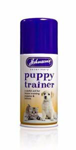 Johnson-039-s-Veterinaria-Cachorro-Perro-Gatito-casa-formacion-Spray-150-Ml