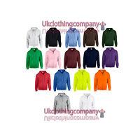 Men's Heavy Blend Gildan Plain Zipped Hoodie - Adult Full Zip Hooded Sweatshirt