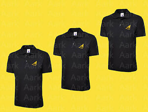 d565dfc3 Pack of 3 black EMBROIDERED Gas Safe polo shirts - Short sleeved ...