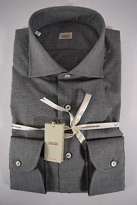 vero affare acquisto speciale nuovo aspetto Dettagli su ALESSANDRO GHERARDI camicia UOMO classica sartoriale COTONE  grigio tg. 39-42-43