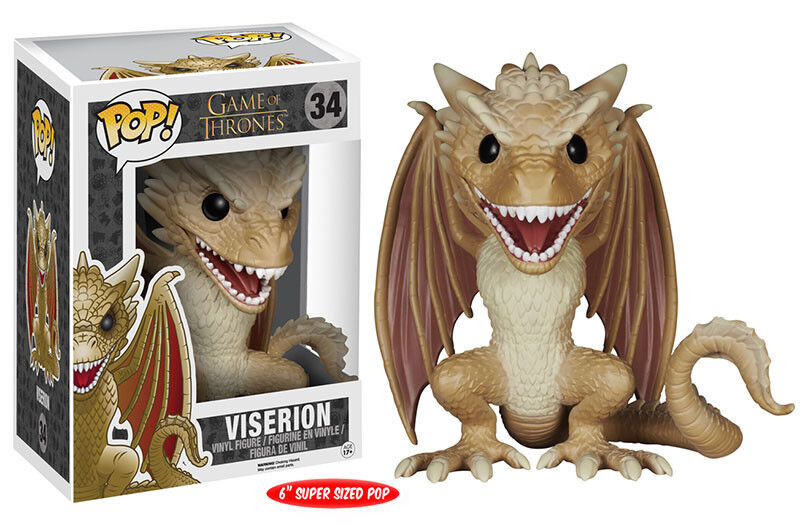 Funko POP - Games Of Of Of Thrones - 34 Viserion f256d7