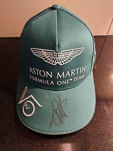 SEBASTIAN VETTEL CAP NEU Aston Martin 2021 Autogramm signed RAR F1 Formel1