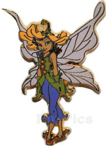 Disney-Pin-44787-DLRP-Fairies-Lily-Disneyland-Resort-Paris-Tinker-Bell-Fairy