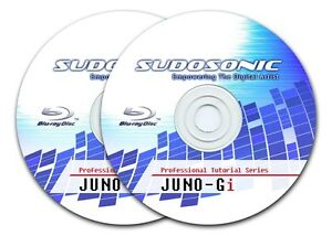 Roland Juno Gi Video Tutorial Lessons on Blu-ray