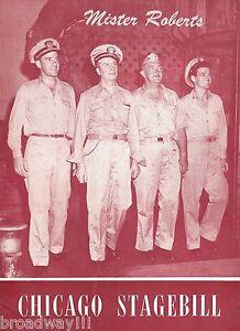Cliff-Robertson-034-MISTER-ROBERTS-034-Joshua-Logan-1948-Chicago-Illinois-Playbill