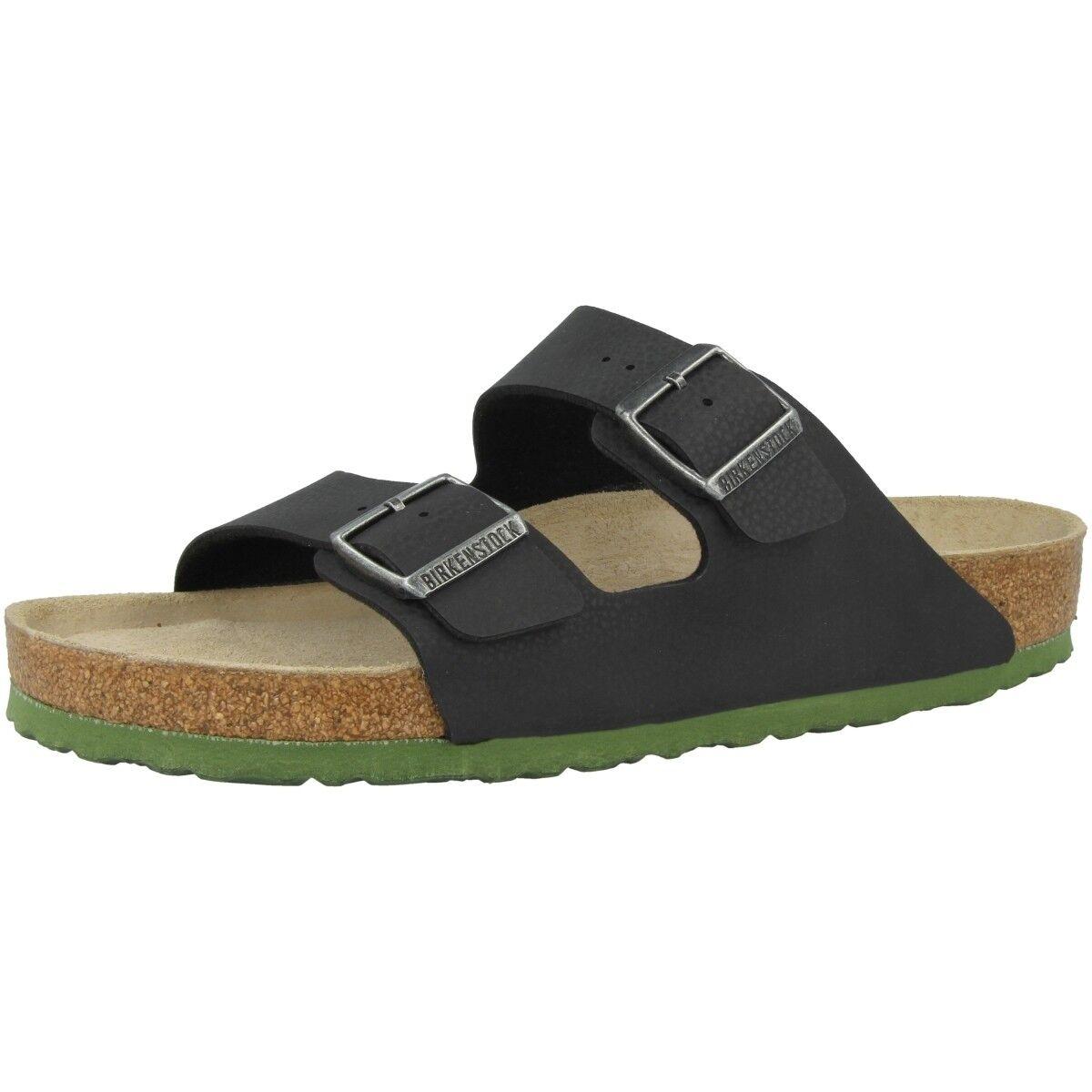 Birkenstock Arizona SFB Birko-Flor Weichbettung Schuhe Weite normal 1005714
