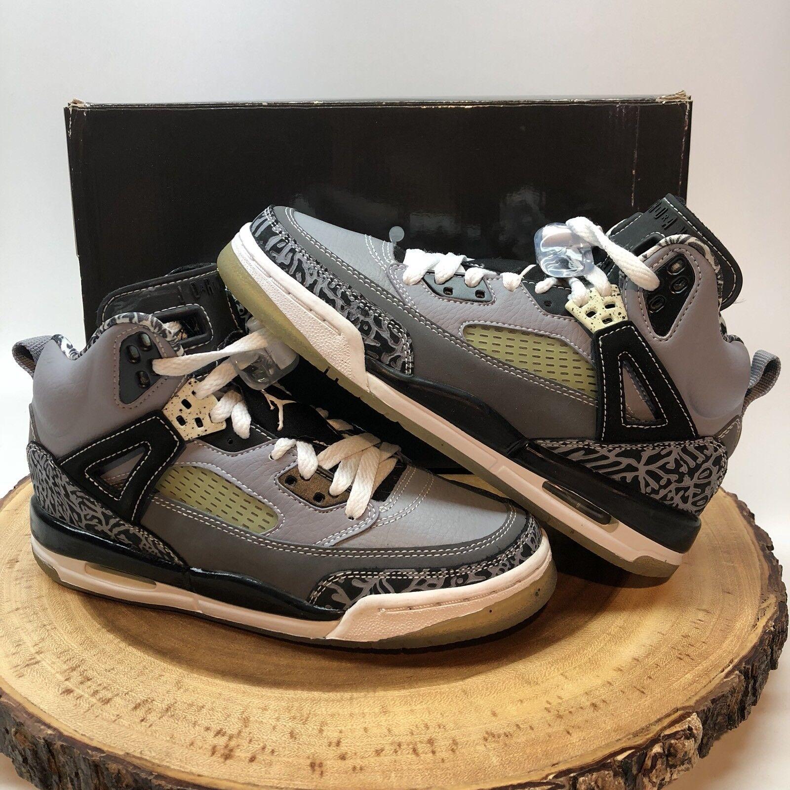 Nike Air Jordan Spizike Cool Grey Size 4.5y Black Cement Retro III IV VI VII XI