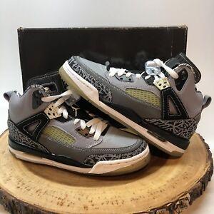 quality design 6ba3d c2b05 Image is loading Nike-Air-Jordan-Spizike-Cool-Grey-Size-4-