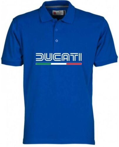 POLO DUCATI OLD maglietta felpa YAMAHA t-shirt VALENTINO ROSSI DUCATI maglia BIA