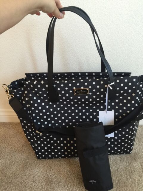 Nwt Kate Spade Taden Blake Avenue Diamond Dot Baby Bag