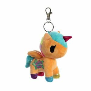 Tokidoki-Kaili-Unicorno-Keyring-Keychain-Plush-Soft-Toy-Bag-Clip-4-5-034