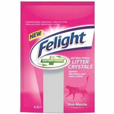 Bob Martin Felight Super Absorbent Cat Litter Crystals Antibacterial 4.2ltr
