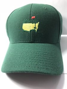 Masters-Golf-FITTED-HAT-Cap-7-3-4-GREEN-from-Augusta-National-Ships-Fast