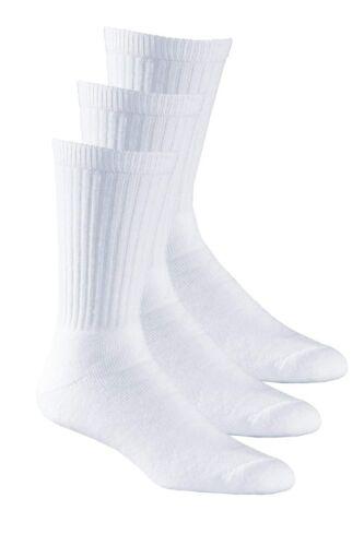 Aurellie Boys Sports White Cotton Ribbed Socks UK sizes 5.5-11 Multipacks