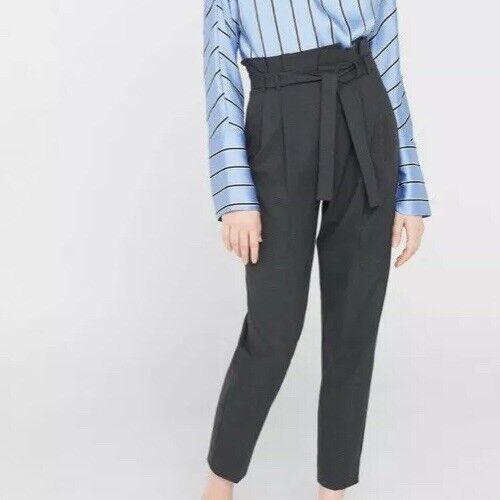 Mango Women Bow belt trousers Size 12UK RRP .99 Box E105