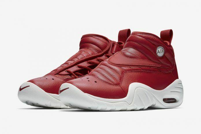 Nike Shake Ndestrukt 880869-600 Gimnasio Rojo Air blancoo Dennis Rodman baloncesto