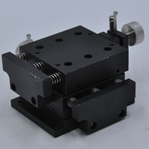 XY 2-axis XY Stage linear Table POSITIONER,SIZE 80*80mm,Travel 6mm