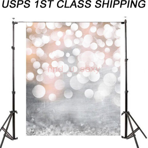 3x5FT Photography Vinyl Christmas Fantasy Glitter Photo Background Backdrop USA
