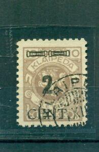 Memel-Neuer-Wert-auf-Klaipeda-Marke-Nr-183-gestempelt-BPP-geprueft-Befund