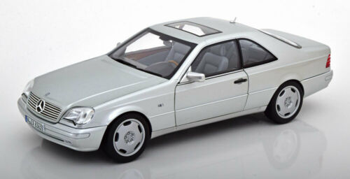1:18 norev mercedes CL 600 c140 Coupe 1997 Silver