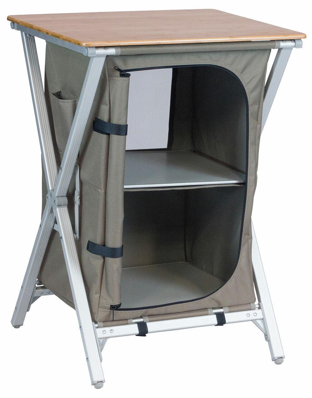 VANGO, CAMPING unidad de almacenamiento de bambú tabla (2017) - Nuevo