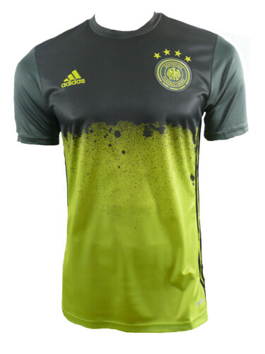 Adidas Allemagne DFB Pre-match maillot jersey 2016 taille S neuf