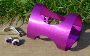 Ringle-H20-mk2-Ultra-Light-XC-Bottle-Cage-Rare-039-vintage-039-original-1995-Purple