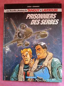 Album-BD-Tanguy-et-Laverdure-Prisonniers-des-Serbes