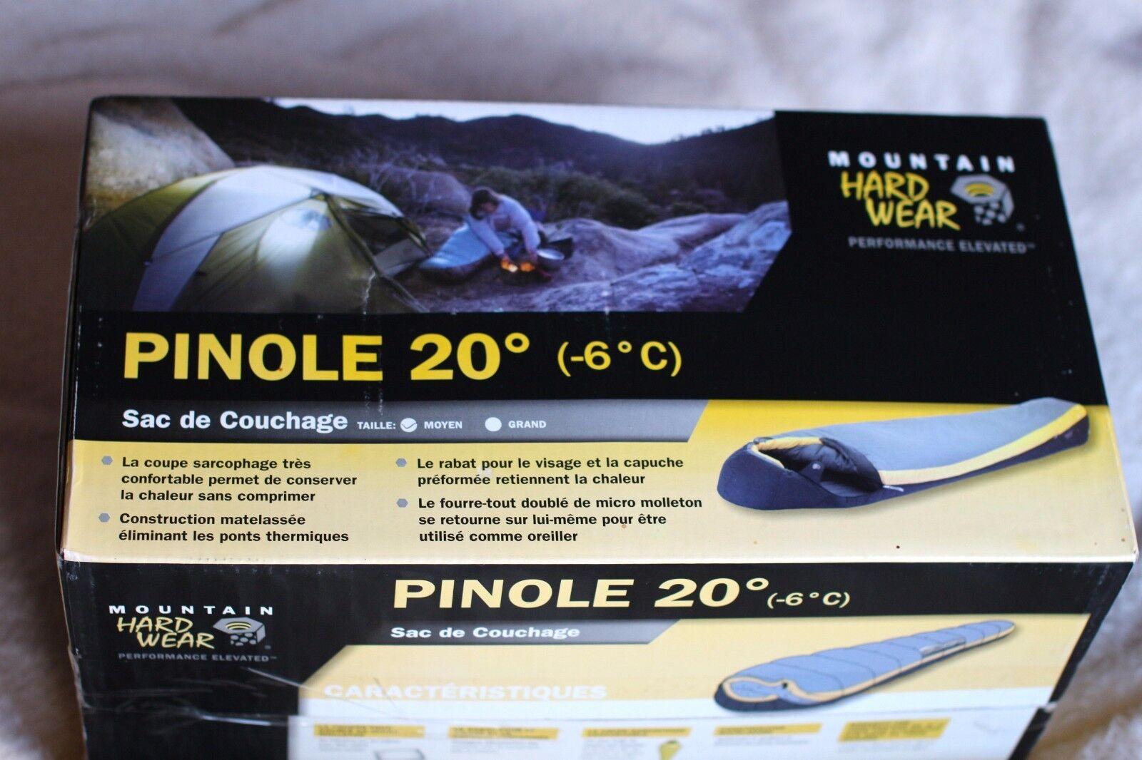 Schlafsack mountain hardwear pinole grad regular günstig