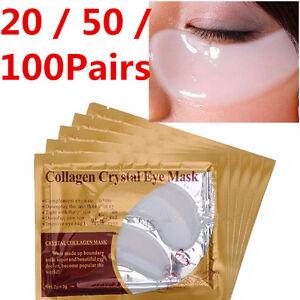 100-Pairs-Eye-Collagen-Anti-Wrinkle-Dark-Circle-Under-Crystal-Gel-Patch-Mask-Bag