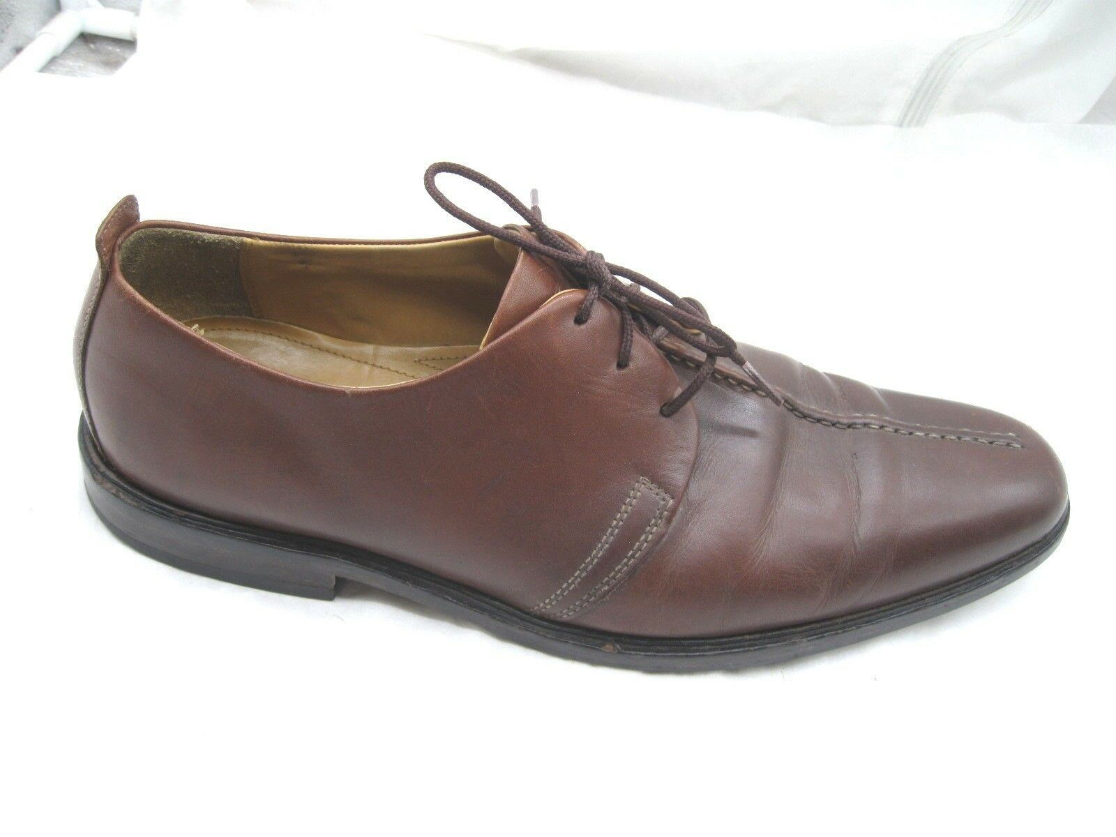 Cole Haan brown leather split toe oxfords Mens dress formal shoes sz 12M C06400