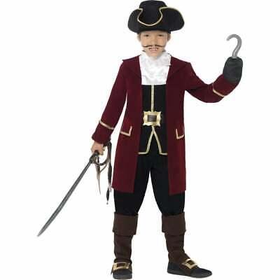 Deluxe Ragazza Pirata Capitano Ragazzi Ragazze Bambino Libro Giorno Costume-mostra Il Titolo Originale