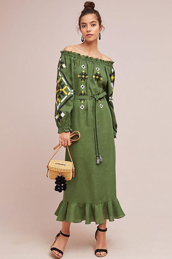 Nuevo Con Etiquetas Talla S Clarisse off-the-hombro vestido  de campesino  ventas calientes