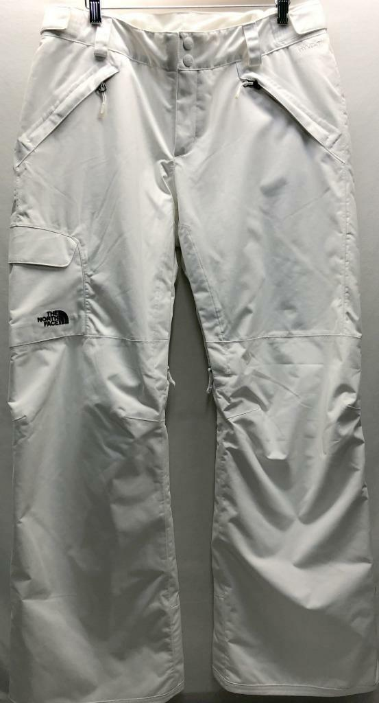 The North Face Women's Freedom LRBC Insulated Snow Ski Pant Large White NEW