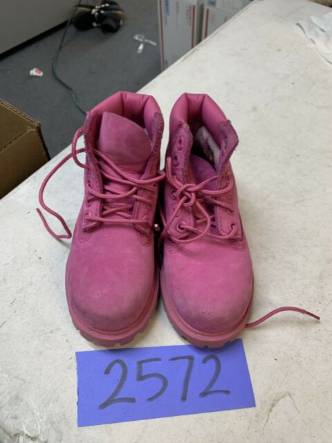 Timberland 6 Inch BOOTS Hot Pink A148L