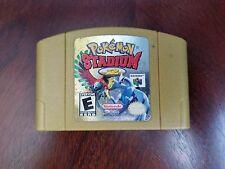 N64 Pokemon Stadium 2 Game Gold Cart NINTENDO 64 - Free Shipping