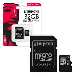 Kingston-Micro-SD-SDHC-memory-Card-Class-10-32GB-Memory-with-SD-card-Adapter
