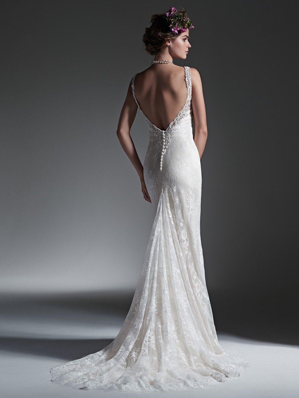 PERRI BY SOTTERO AND MIDGLEY WEDDING DRESS SIZE 12