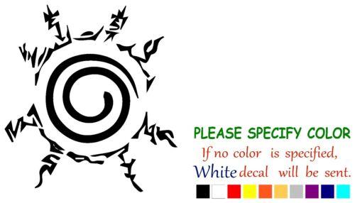 "Seal of Naruto Funny Vinyl Decal Sticker Car Window bumper laptop tablet boat 6/"""